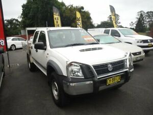 2007 Holden Rodeo RA MY06 Upgrade LX (4x4) White 5 Speed Manual Crew Cab Chassis East Lismore Lismore Area Preview