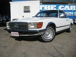 1977 Mercedes-Benz 450 W107 SLC White 3 Speed Automatic Coupe Chermside Brisbane North East Preview