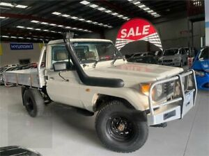 1994 Toyota Landcruiser HZJ75RP White 5 Speed Manual Cab Chassis Laverton North Wyndham Area Preview