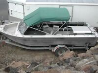 Super Duty welded aluminum riverboat jetboat