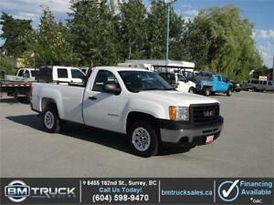 2012 GMC SIERRA 1500 REGULAR CAB LONG BOX 2WD 4.3L V6 *LOW KM*
