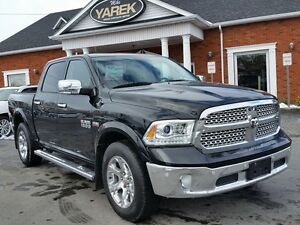 2014 Ram 1500 Laramie 4x4, Leather Heat/Vent Seats, NAV, Sunroof