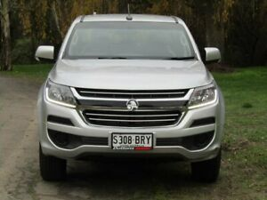 2016 Holden Colorado RG MY17 LS Pickup Crew Cab 4x2 Silver 6 Speed Sports Automatic Utility Littlehampton Mount Barker Area Preview