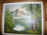 BEAUTIFUL OLD SIGNED OIL PAINTING