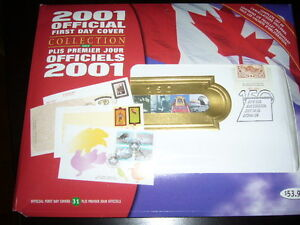 2001 Official First Day Cover Collection