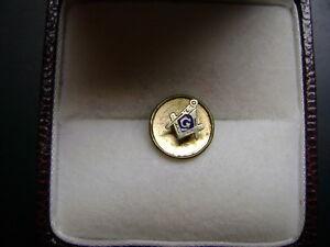 Masonic lapel pin and stick pin
