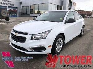 2016 Chevrolet Cruze Limited LS - 6-SPEED MANUAL, VERY LOW KM!!!