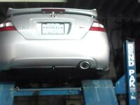 Looking for 2006-2011 Honda Civic Si stock axel back exhaust