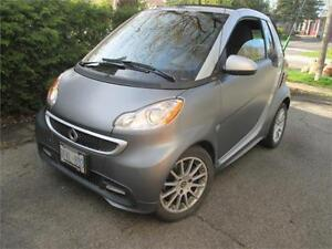 2013 SMART FORTWO PASSION CABRIOLET (NAVI, BLUETOOTH, CRUISE!!!)
