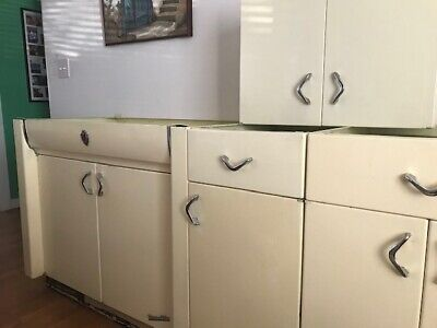 yellow mulliner youngstown daisy vintage kitchen cabinets