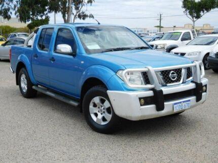 2007 Nissan Navara D40 ST-X Blue 6 Speed Manual Utility Wangara Wanneroo Area Preview