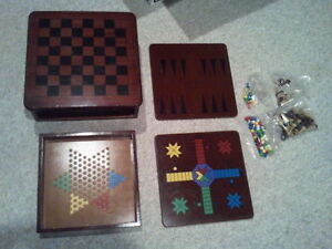 board games made of wood