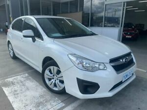 2013 Subaru Impreza G4 MY13 2.0i Lineartronic AWD White 6 Speed Constant Variable Hatchback Fyshwick South Canberra Preview