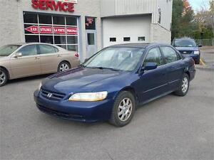 2002 Honda Berline Accord SE TOIT MAGS 4 CLY