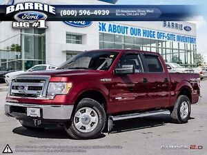 2013 Ford F-150 4WD SUPERCREW XLT