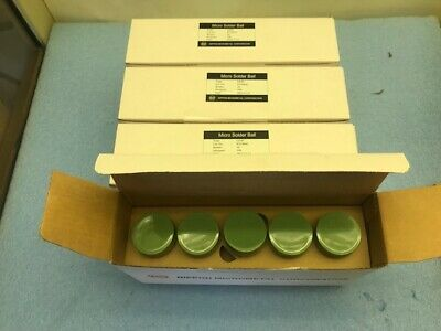 Nippon Type Lf35 Micro Solder Ball Size 150 Um. 5000000 Per Bottle Lot Of 40
