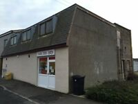 Commecial property in central Penicuik, for sale / to let with residential planning potential