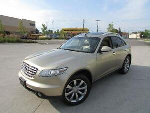 2004 INFINITI FX45 *LEATHER,SUNROOF,DVD,NAVIGATION,BACKUP CAM!!*