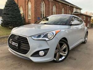2013 Hyundai Veloster Turbo -LEATHER-NAV -PANO ROOF-6 SPEED