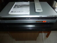 SONY DVD RECORDER AND PLAYER