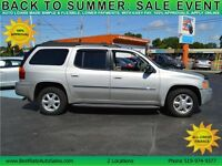 2006 GMC Envoy XL SLE 4WD SUV with Sunroof, Leather, Loaded