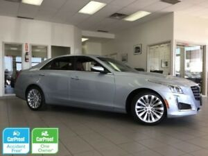 2018 Cadillac CTS Sedan Premium Luxury AWD