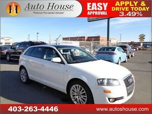 2008 Audi A3 PANORAMIC ROOF HEATED SEATS EVERYONE APPROVED!!
