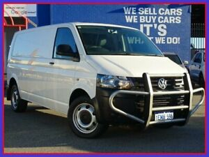 2014 Volkswagen Transporter T5 MY14 TDI400 LWB DSG White 7 Speed Sports Automatic Dual Clutch Van