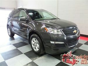 2016 Chevrolet Traverse LS,AWD,8 PASSENGER, EASY FINANCE WE APPR Edmonton Edmonton Area image 3