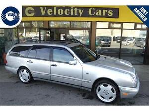 1999 Mercedes-Benz E320 Wagon 4WD 152K's 7-seats/Leather/Sunroof