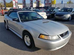 2000 Ford Mustang, CONVERTIBLE, AUTO, A/C, ONLY 83118 KM, 3.8L