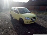 Suzuki Ignis 1.3 (Cheap car with MOT and towbar)