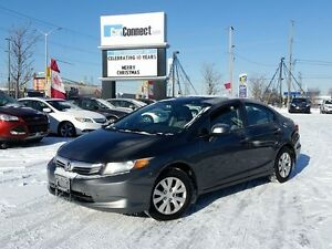 2012 Honda Civic ONLY $19 DOWN $44/WKLY!!