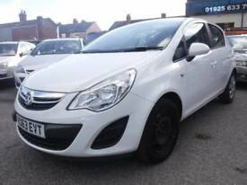 Vauxhall Corsa 1.3 CDTi ecoFLEX 16v Exclusiv 5dr Good / Bad Credit Car Finance (white) 2014