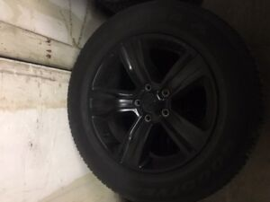 20 inch dodge rims and tires
