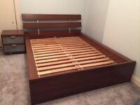 Malm Ikea Double Bed