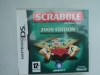 Nintendo DS/DSi Boxed game SCRABBLE 2009 version excellent condition Only £7