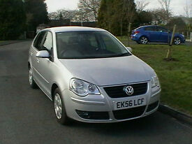 56 REG VOLKSWAGEN VW POLO 1.2 S 5 DOOR HATCHBACK HPI CLEAR LOW MILEAGE