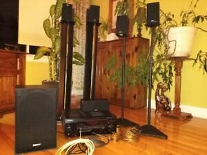 home theater system pionneer/ energy take 2 5.1 dts