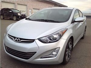 Hyundai Elantra Limited Cuir Toit Ouvrant MAGS 2014