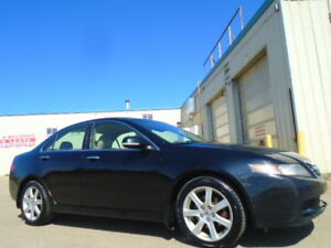 2005 Acura TSX SPORT PKG-HEATED LEATHER-SUNROOF-AMAZING-6 SPEED