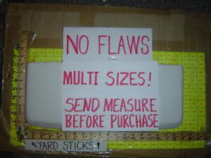 NO FLAWS ! Crane toilet tank lid 222 3-222 3-35-001 4-35-001 3-652 9-652 WHITE