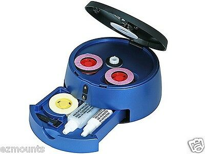 Dvd Cd Blu-ray Game Disc Scratch Repair & Cleaner Kit Mac...