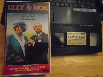 RARE OOP Izzy & Moe VHS film 1985 Jackie Gleason Art Carney HONEYMOONERS tv CBS, usado segunda mano  Embacar hacia Mexico