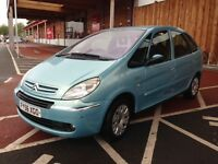 2006(56) CITROEN XSARA PICASSO EXCL 110 1.6 TURBO DIESEL 110BHP MOT SEPTEMBER 2017 NO ADVISORYS