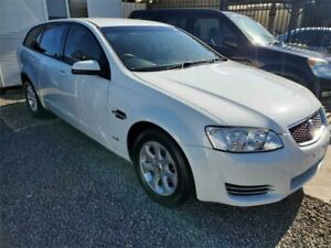 2012 Holden Commodore VE II MY12 Omega Sportwagon Heron White 6 Speed Sports Automatic Wagon Park Holme Marion Area Preview