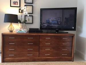 TV cabinet / vintage drafting drawers Vaucluse Eastern Suburbs Preview