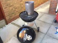 Weber 47cm BBQ and Chimney Starter - Good as new