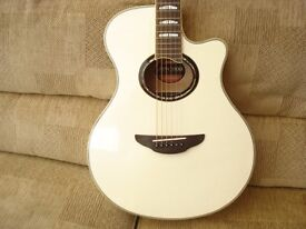 YAMAHA APX 1000 ELECTRO ACOUSTIC GUITAR AND FENDER ACOUSTA 15 AMPLIFIER £550.00