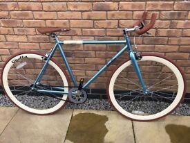 Brand new Quella Cambridge fixed gear pedal bike